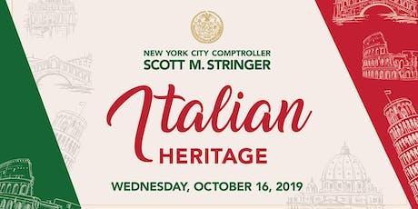 Italian Heritage tickets