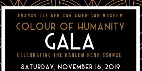 2019 Colour of Humanity Gala tickets