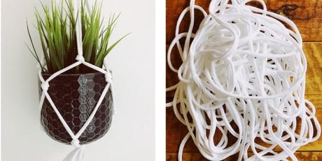 Full Circle Tees - Ancoats- Upcycle Macrame Plant Hanger Workshop tickets