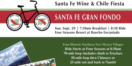 Santa Fe Wine & Chile Gran Fondo 2019 tickets