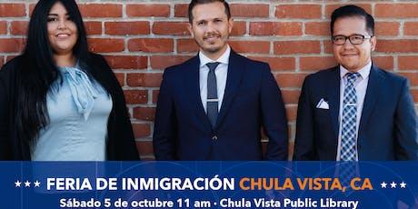 FERIA DE INMIGRACION EN CHULA VISTA, CA boletos