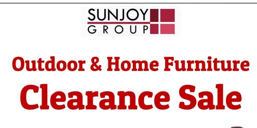 Outdoor Home Furniture Clearance Sale Event