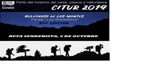 RUTA SENDERISTA  CITUR 2019