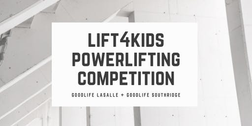 Lift4Kids Powerlifting Competition