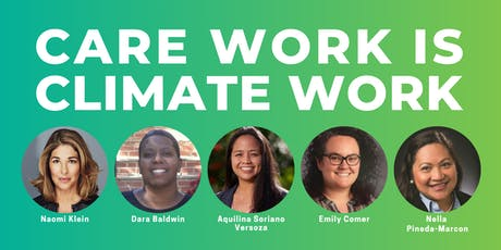 Care Work is Climate Work: A Series on the Green New Deal tickets
