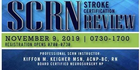 PTATLAANN Stroke Certified Registered Nurse (SCRN) Course 2019 tickets