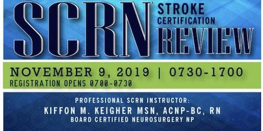 PTATLAANN Stroke Certified Registered Nurse (SCRN) Course 2019