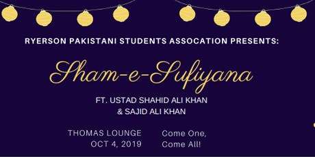 Shaam-e-Sufiyana tickets