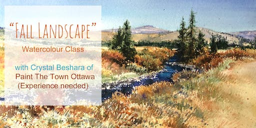 Painting Fall Landscapes in Watercolour with Crystal Beshara