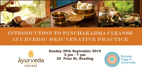 PANCHAKARMA CLEANSE - A TRADITIONAL REJUVENATIVE PRACTICE  tickets