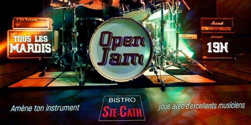 Les mardis Open Jam