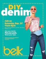 DIY Denim Experience at Belk Mobile, AL