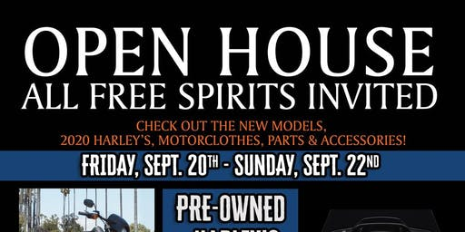 Simi Harley's Open House Celebration!