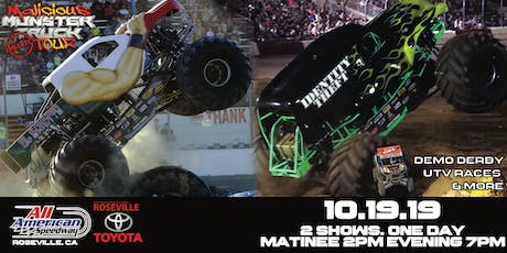 Malicious Monster Truck Bash tickets