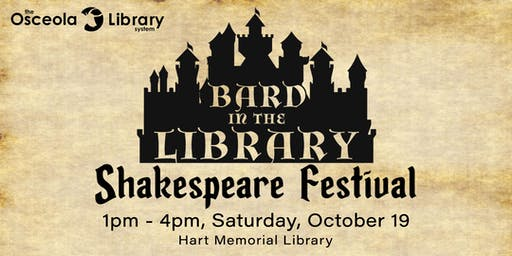 Bard in the Library Shakespeare Festival