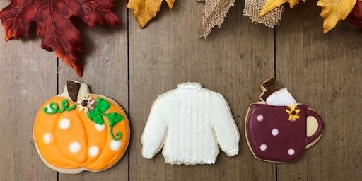 Fall Cookie Decorating Class by Simply Delightful Treats at Present