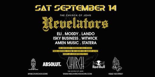 REVELATORS - Sat September 14