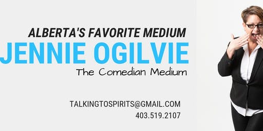 Jennie Ogilvie - The Comedian Medium, VIP event in Kenora, ON