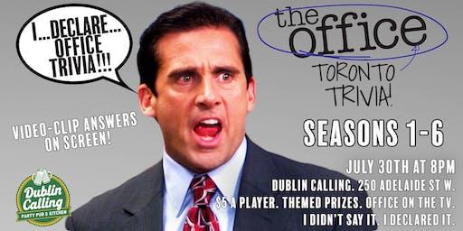 The Office Toronto Trivia! Seasons 1 - 6