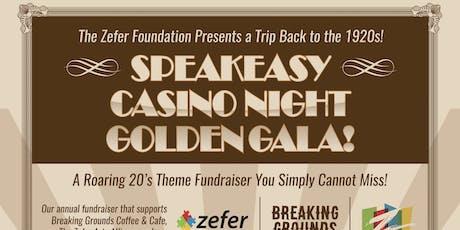 Speakeasy Casino Night Golden Gala tickets