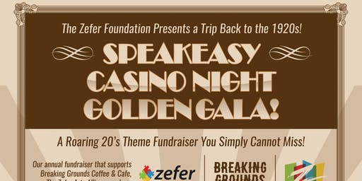 Speakeasy Casino Night Golden Gala