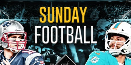 Patriots vs. Dolphins @ The Greatest Bar  tickets