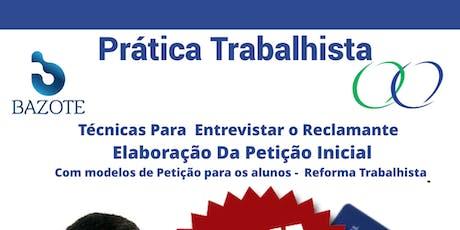 Curso de PRÁTICA com o Professor Marcão tickets