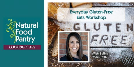NPF Cooking Class:  Everyday Gluten-Free Eats Workshop tickets