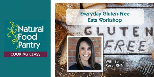 NPF Cooking Class:  Everyday Gluten-Free Eats Workshop
