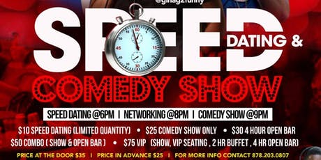 Speed Dating Comedy Night tickets