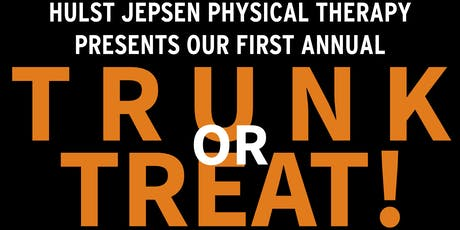 Hulst Jepsen Physical Therapy Annual Trunk or Treat tickets