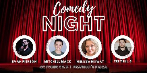 Redding's Fall Comedy Showcase (Friday Show)