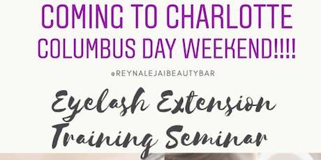 CHARLOTTE'S Eyelash Extensions Training Seminar tickets