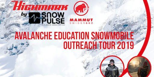 Avalanche Education Snowmobile Outreach Tour 2019 - Chopper City