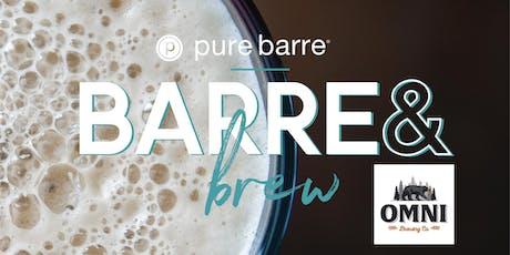 Pure Barre & Brew tickets