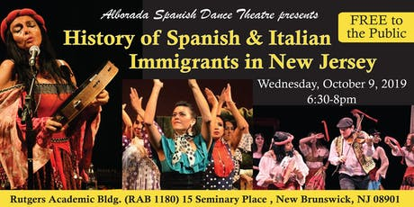 The History of  Spanish & Italian Immigrants in New Jersey tickets