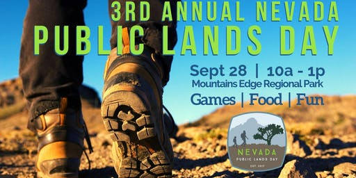 3RD Annual Nevada Public Lands Day