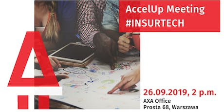 AccelUp meeting #insurtech tickets