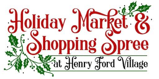 2019 Pre-Holiday Shopping Spree - Vendor Registration