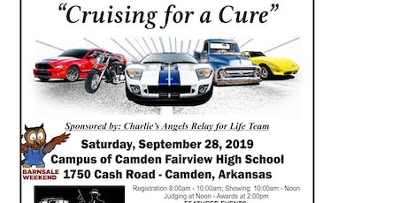 """The 20th Annual """"Cruising For A Cure"""" Car & Motorcycle Show Returns To Camden tickets"""