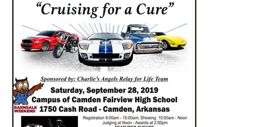 """The 20th Annual """"Cruising For A Cure"""" Car & Motorcycle Show Returns To Camden"""