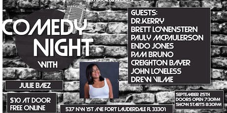 Comedy Night with Julie Baez at Next Door at C&I tickets