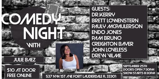 Comedy Night with Julie Baez at Next Door at C&I