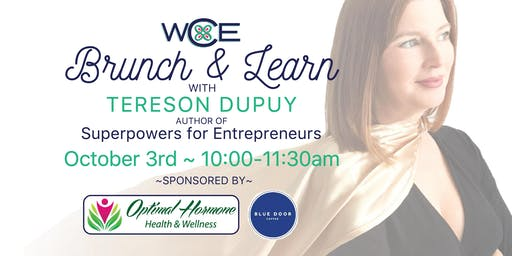 Brunch and Learn with Tereson Dupuy