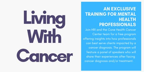 Lived Experiences: Living With Cancer tickets