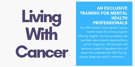 Lived Experiences: Living With Cancer