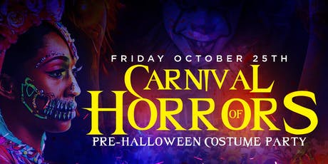 """Carnival Of Horrors"" Halloween Costume Party tickets"