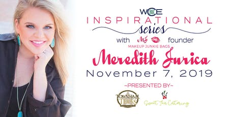 Inspirational Series with Makeup Junkie Meredith Jurica tickets