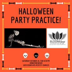 Halloween Party Practice tickets