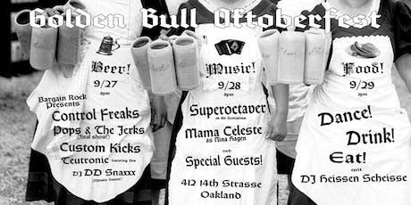 Control Freaks : Pops & The Jerks : Custom Kicks : Teutronic : DJ DD Snaxxx tickets